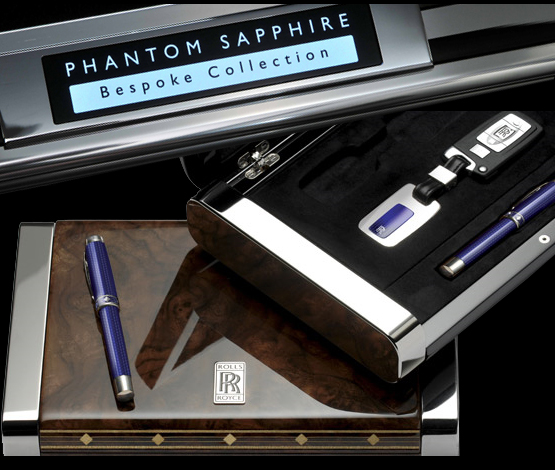 Image of Conway Stewart exclusive pens for the Phantom Sapphire Collection