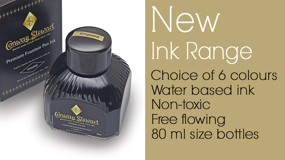 Conway Stewart ink by Diamine