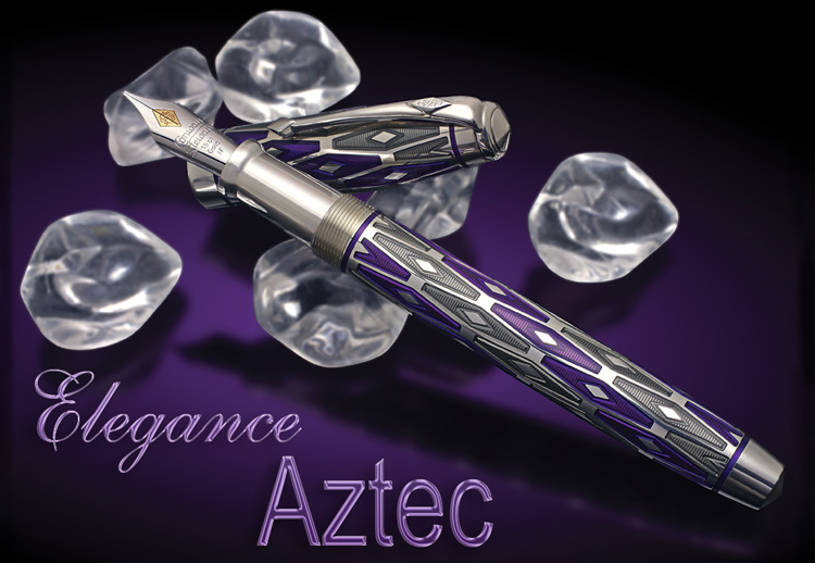 Image of Aztec Limited Edition Fountain Pen