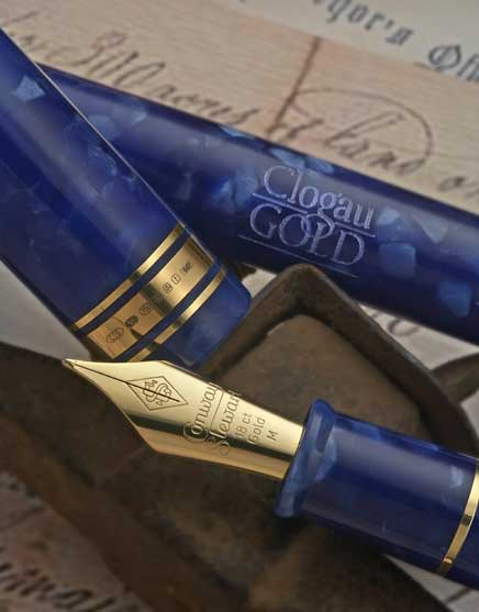 Image of Conway Stewart Clogau Gold 150th Anniversary pen