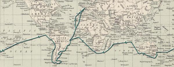 Image of Darwin map