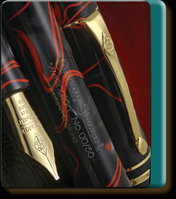 Conway Stewart Wellington Excalibur limited edition fountain pen