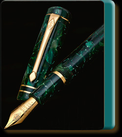 Conway Stewart Conway Stewart Wordsworth Classic Green limited edition fountain pen
