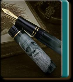 Charles Darwin pen