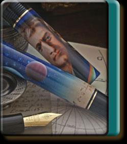 Sir Isaac Newton pen