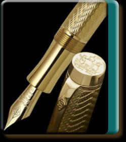 Drake Vermeil pen
