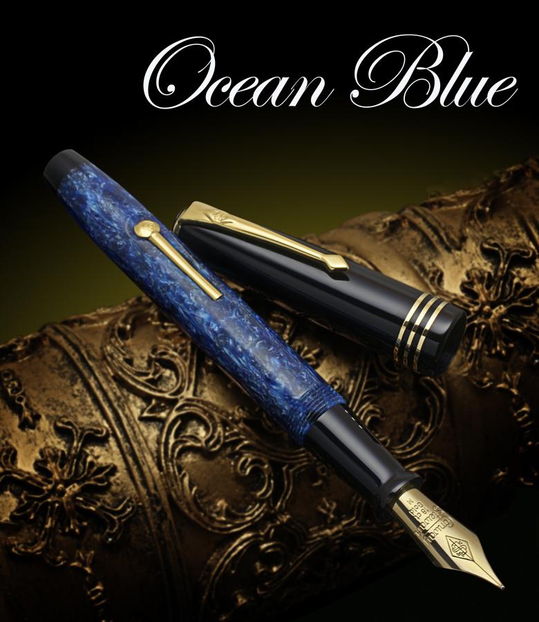 Conway Stewart Ocean Blue Model 58