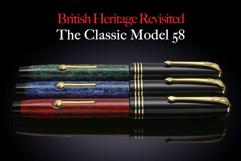 Conway Stewart Model 58 series