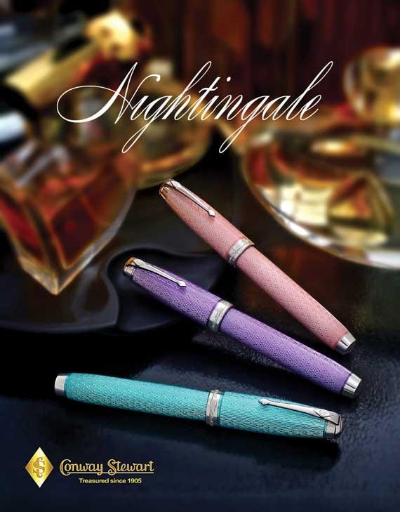 Image of Conway Stewart Nightingale pens