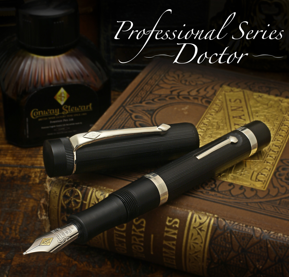 Conway Stewart Professional Sereis -- Doctor and Lawyer editions