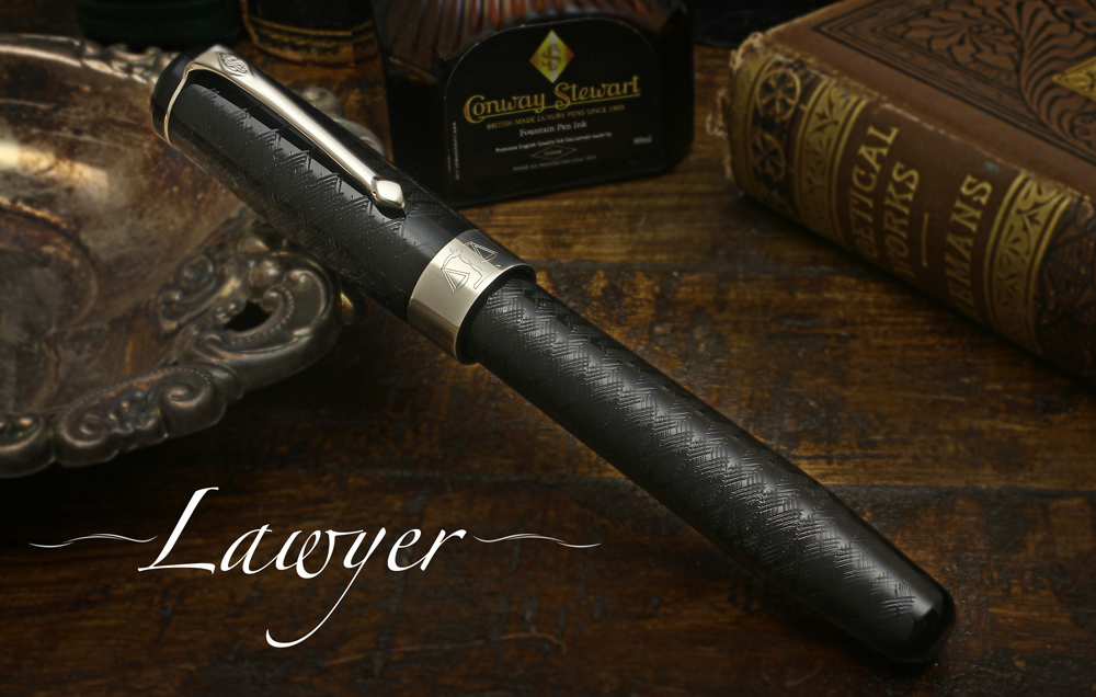 Conway Stewart Professional Series -- Doctor's and Lawyer's pens