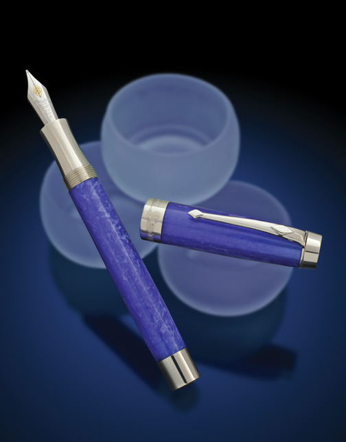 Image of Sterling Silver Duro in Sapphire Blue