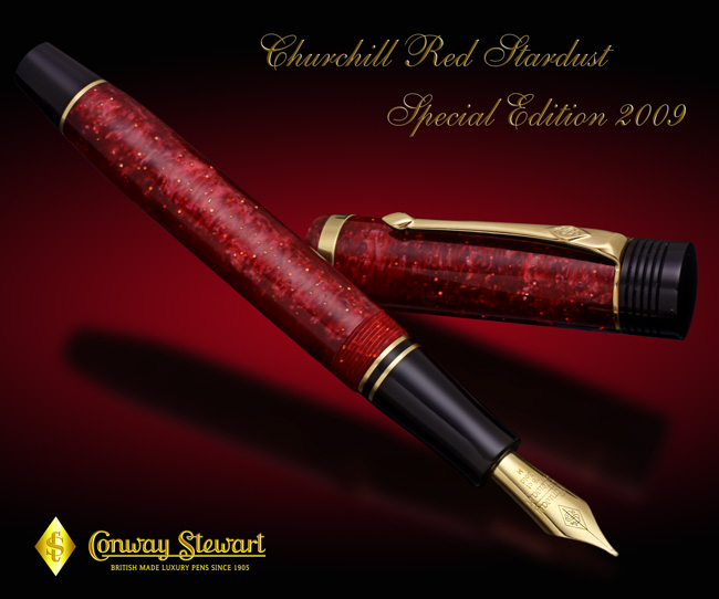 Image of Churchill Red Stardust Special Edition