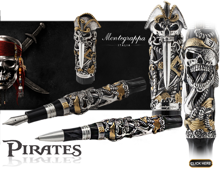 Montegrappa Pirates available through Penporium.com