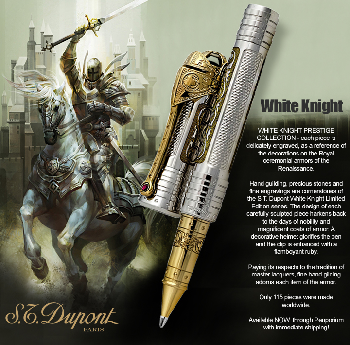 S.T. Dupont White Knight