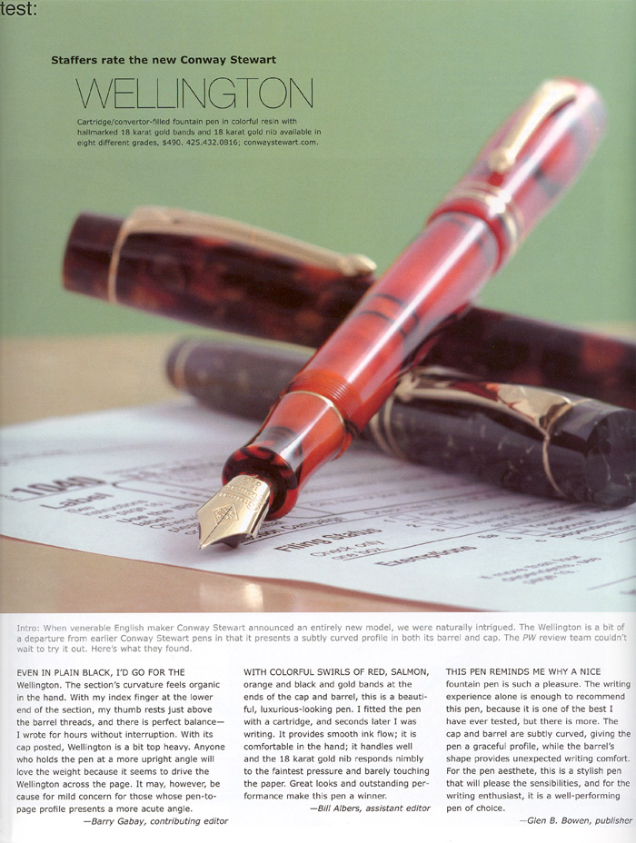 Pen World May 2008 issue